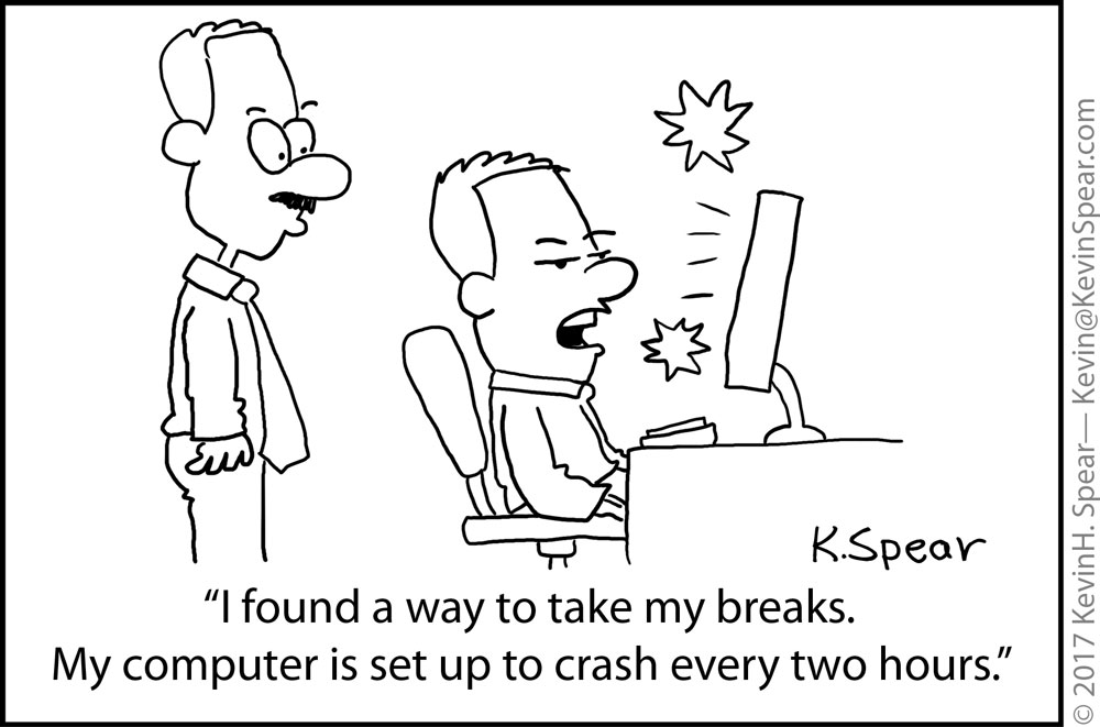 Computer Crashes and Breaks