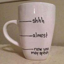 My coffee cup!