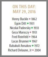 ChessCafe. Today in chess history