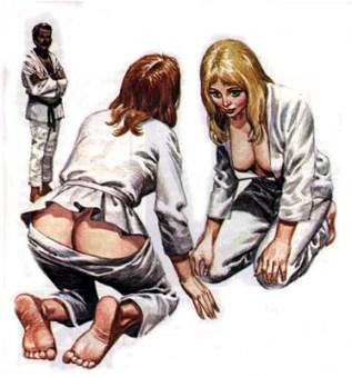 Martial Arts for pretty girls.