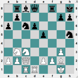 How does Black get a large advantage?