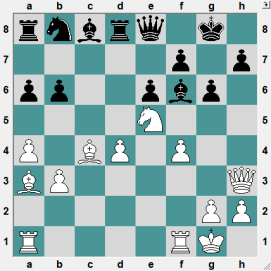 3rd Iasi Open ROU 2016.6.15 Manolache,M--Banzea,Alexandru-Bogdan. Position after 17 moves. Clearly, Black is lagging in developemnt. There must be a way to exploit this...White to play and CRUSH!