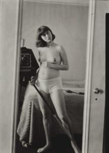 Diane Arbus. Self portrait. Pregnant.