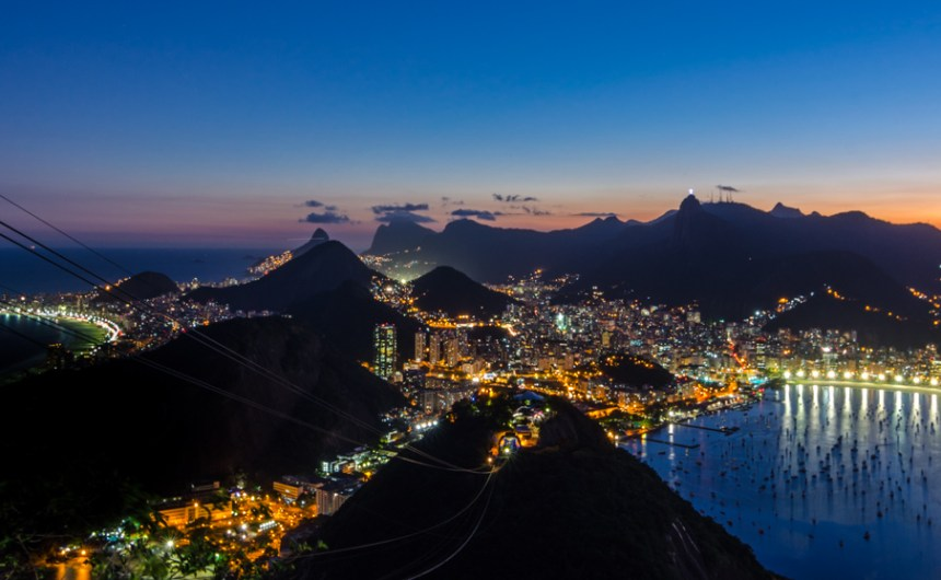 Rio de Janeiro from Sugarloaf Mountain