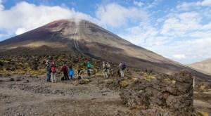Mount Ngauruhoe, Tongoriro Northern Circuit