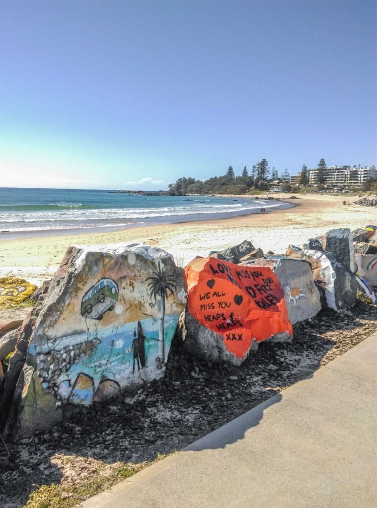 Breakwall, Port Macquarie (Photo Credit: Jenni)