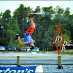 Wakeboarding on air!