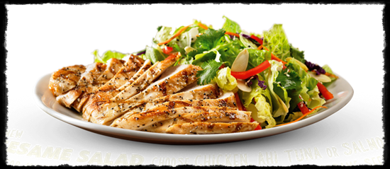 Kevin Sutton Show - Outback Steakhouse Sesame Salad