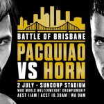 Pacquiao Vs. Horn: Will You Watch?
