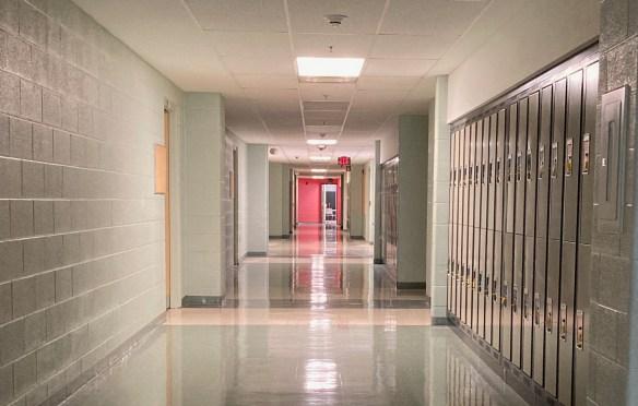 Conestoga College Hallway in 2021.