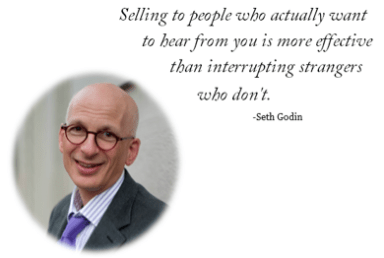 Seth Godin Answer to What is Inbound Marketing?