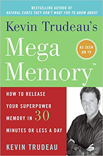 Mega Memory book by Kevin Trudeau