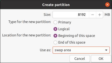 swap Ubuntu 20.04