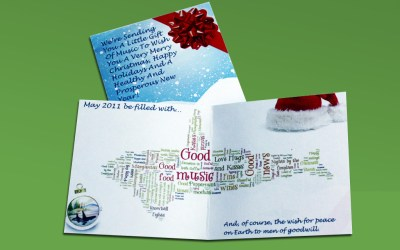 Christmas Card Design – The ORCA Partnership – 2011