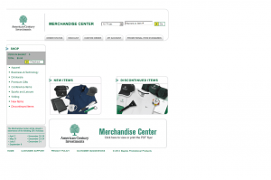 eCommerce Website - American Century - Promotional Products