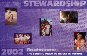 Stewardship Campaign Direct Mail Piece - Bonhomme Presbyterian