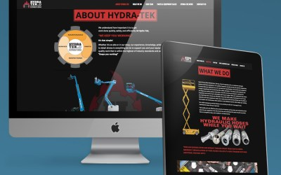 Hydra-Tek, LLC – Marketing Consulting – Web Design – Print Design