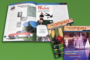 Magazine Design and Layout, enCompass Magazine