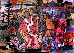 St. Boniface mosaic