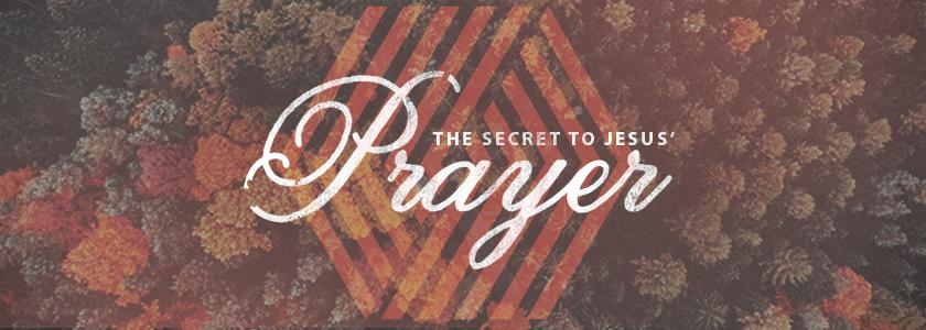 the secret to Jesus' prayer.  kevinwestmusic.net