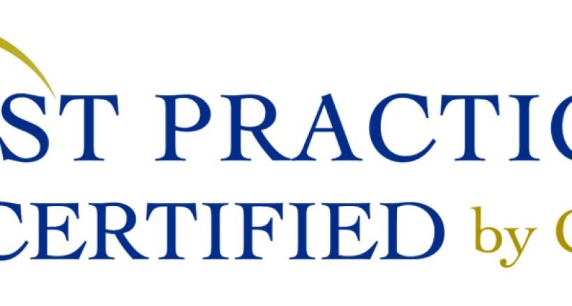 Best Practices Certified Logo