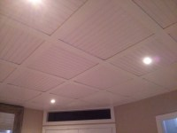 Embassy Suspended ceiling with beadboard ceiling tiles 15 ...