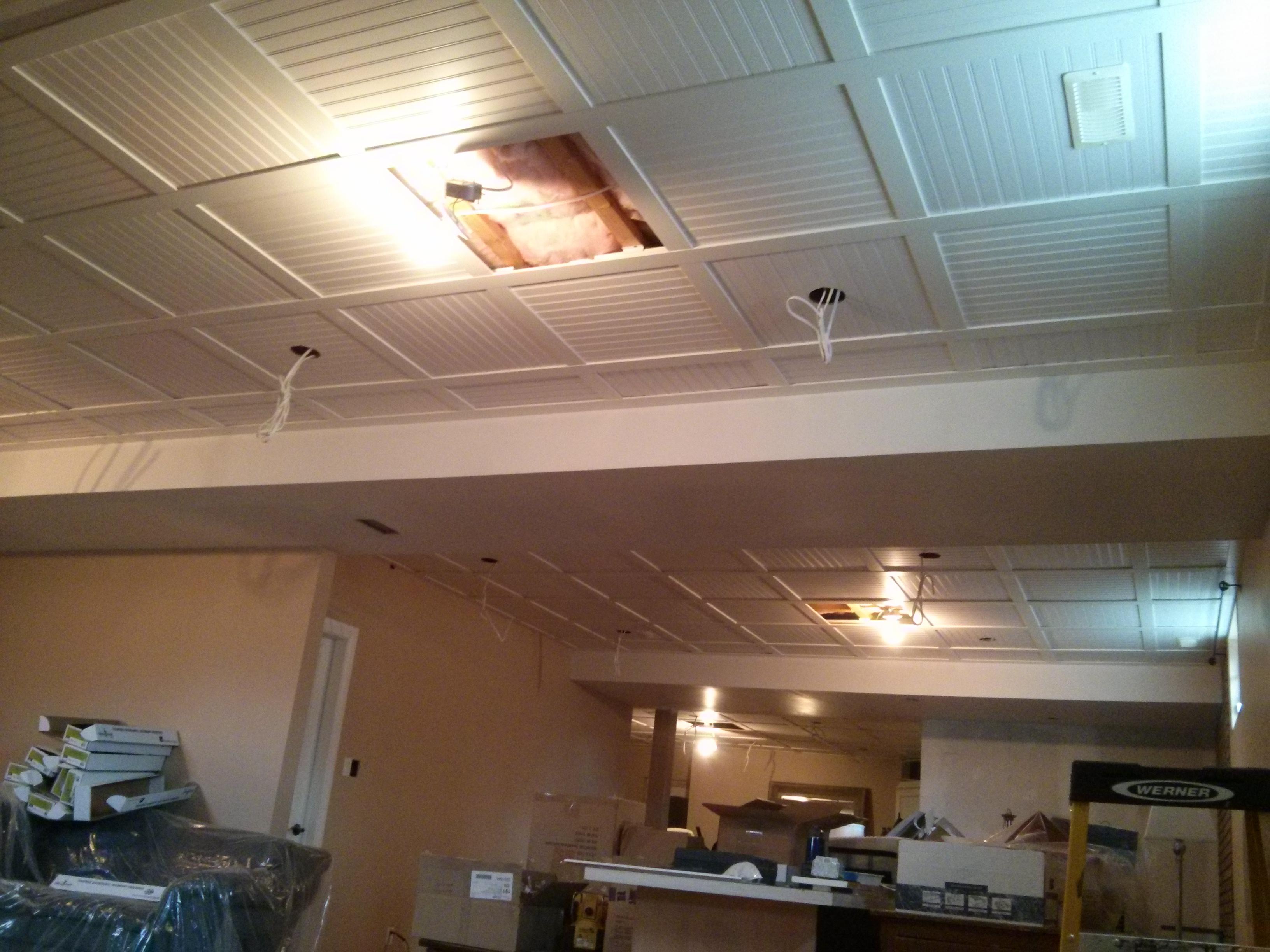 Beadboard Drop Ceiling Tiles Ki94 Roccommunity