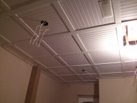 Embassy Suspended ceiling with beadboard ceiling tiles 9 ...