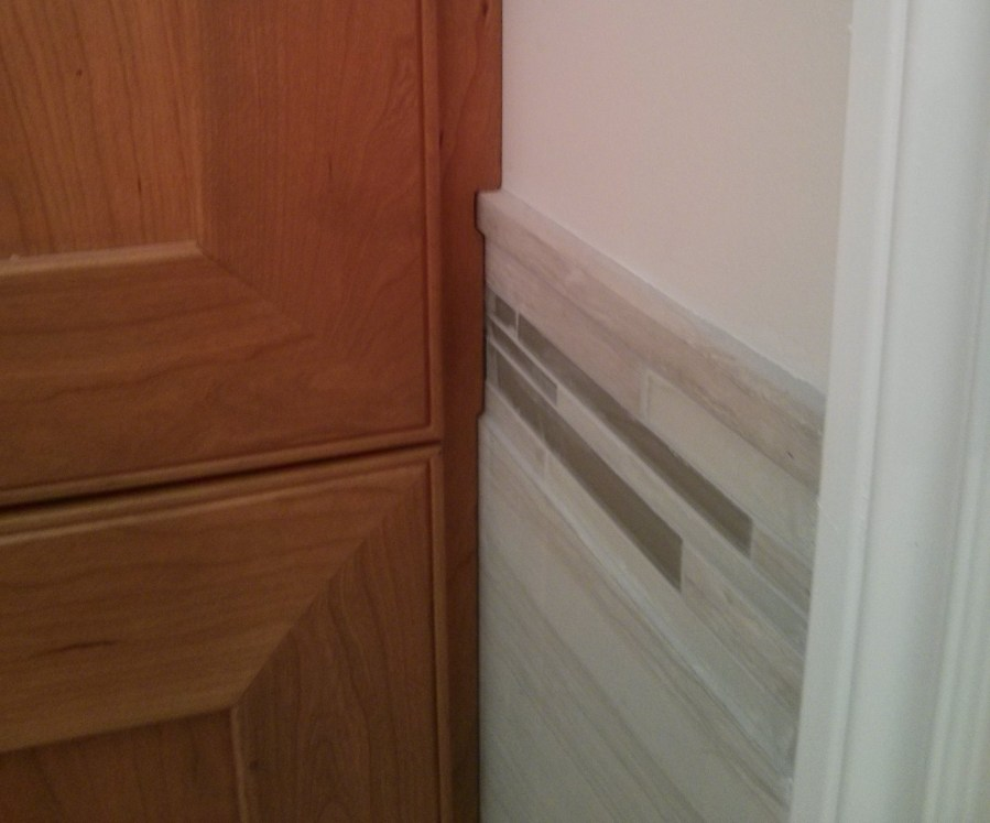 Scribe Strip Cabinet  Cabinets Matttroy