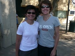 Marla and Sheila of City Racquet Shop