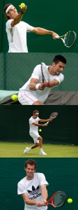 Rafa, Nole, Roger and Andy