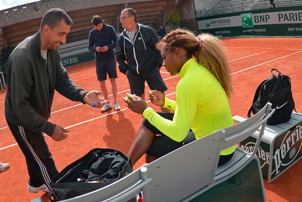 Serena Williams (© FFT)