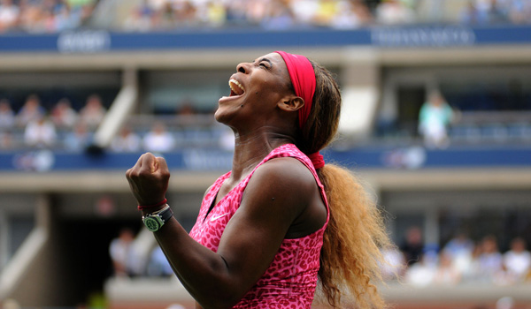 Serena Williams (Mike Lawrence/usopen.org)