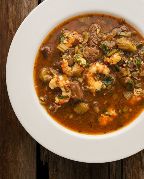Photo - Creole Okra Gumbo - Honest Food