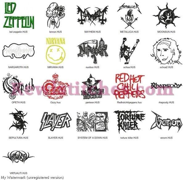Rock Band Logos Set 3_p2