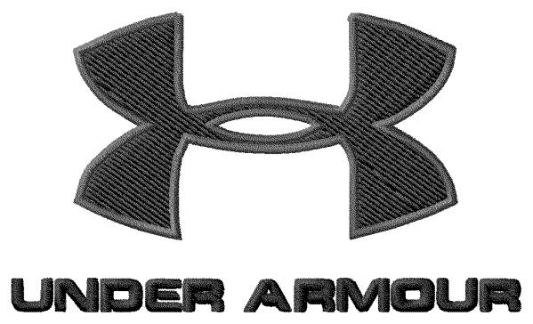 Under Armour Embroidery Design Logo