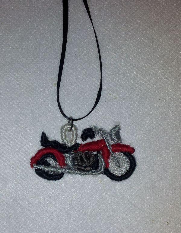 Harley Motorcyle FSL Pendant/Earing/Bracelet Embriodery Designs