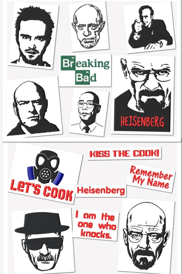 Breaking Bad Embroidery Designs