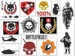 Battlefield Game (Gamer) Embroidery Designs