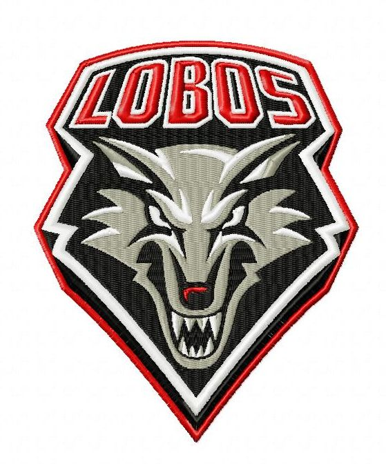 New Mexico Lobos Embroidery Designs