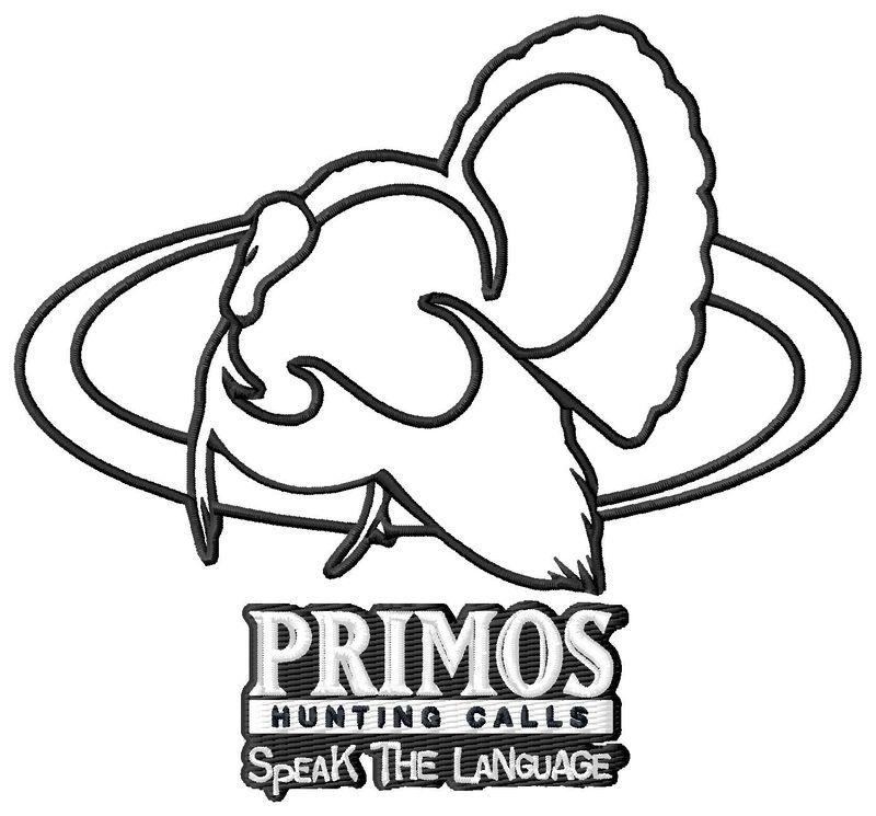 Primos Turkey Embroidery Design
