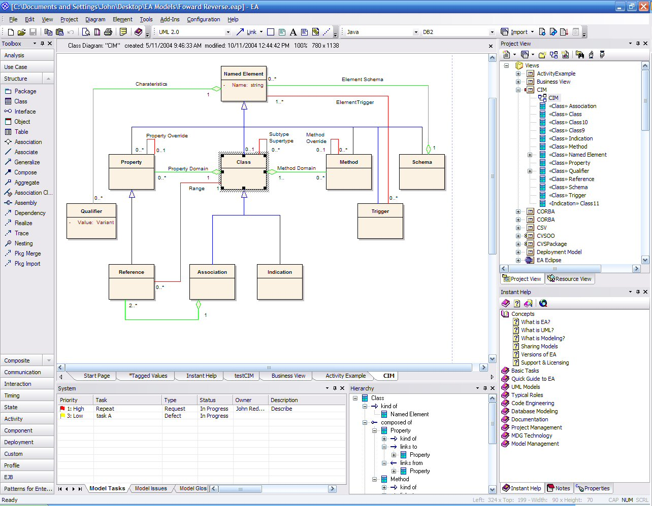 sparx enterprise architect diagram kicker hideaway wiring  uml design tool federico cargnelutti