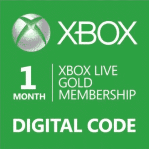 xbox live gold membership 1 month