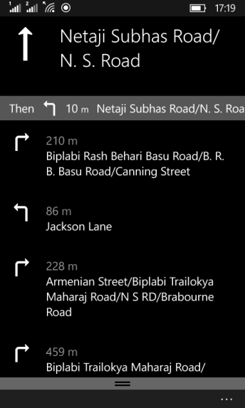 Offline Maps Windows 10 Mobile 5