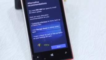 Windows 10 Mobile Upgrade Advisor Customize