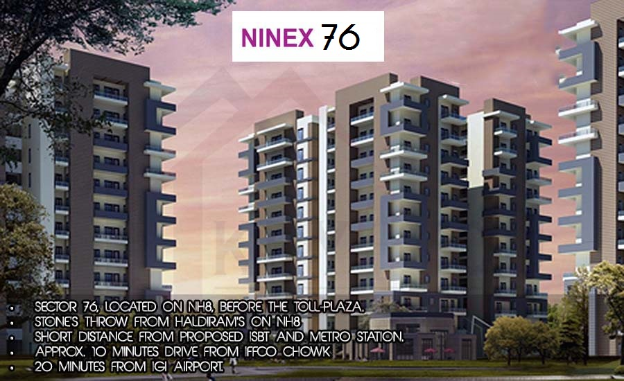 Ninex Sector 76 Gurugram Affordable Housing Project