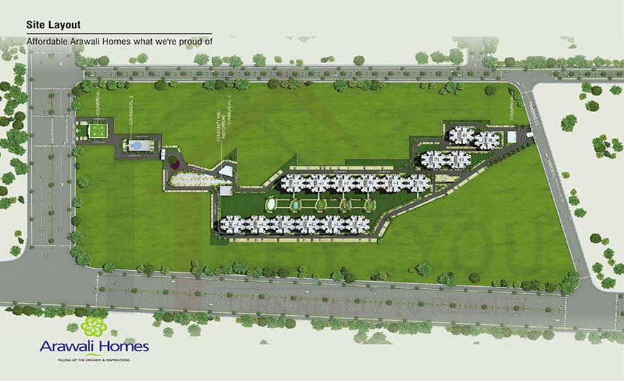 GLS Arawali Sector 4 Gurgaon Site Plan