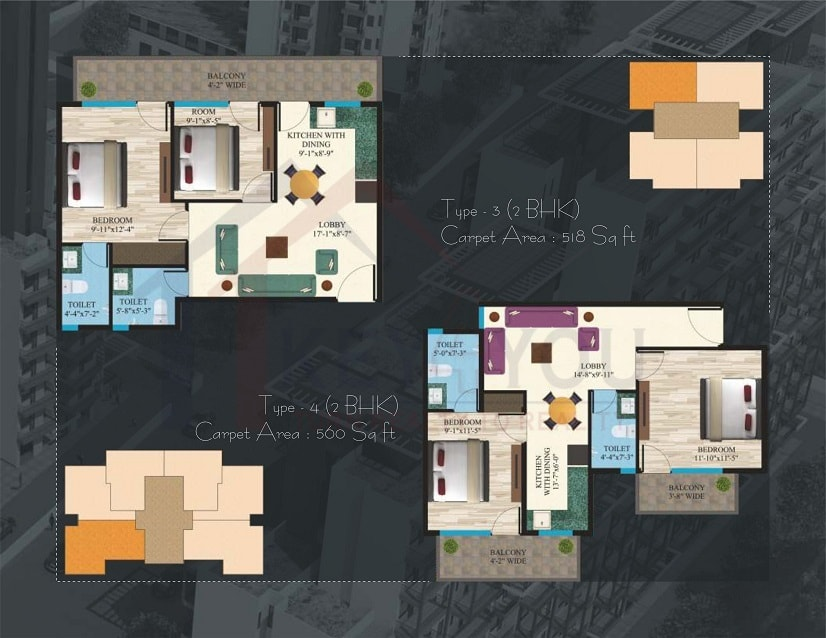 Maxworth Aashray 89 Floor Plan