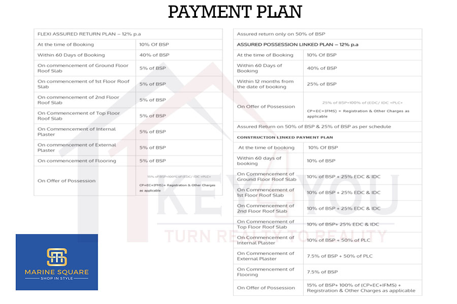 JMS Marine Square payment plan
