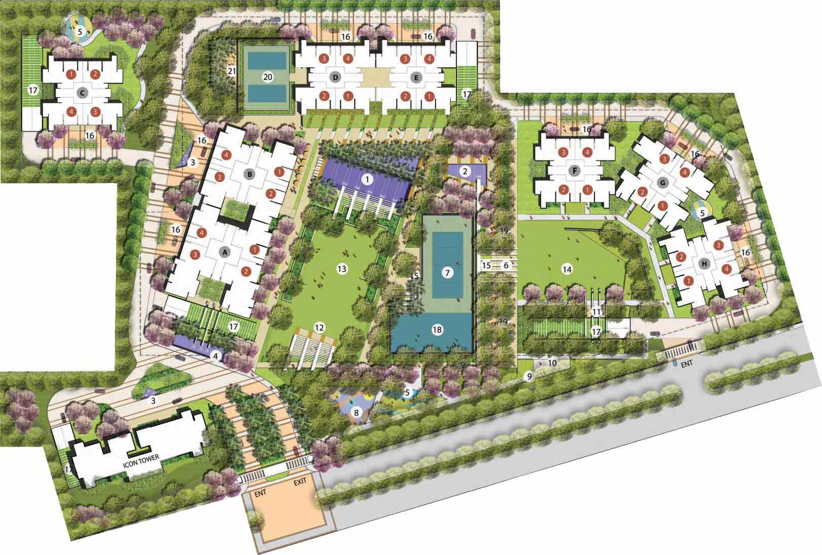 Mapsko Mount Ville Site Plan